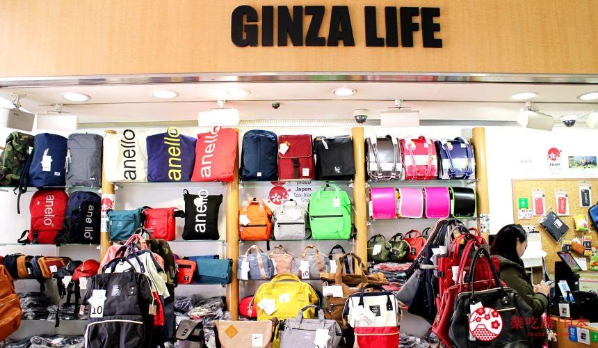东京银座人气行李箱、包包专卖店「Ginza Karen」的「银座ライフ 银座コア店」