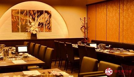 日本和牛吃到饱东京人气烧肉名店「六歌仙」的店内环境