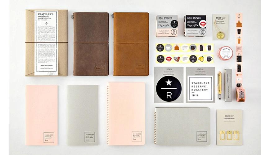 星巴克迷必買!人氣文具「TRAVELER'S notebook」與「星巴克臻選®東京烘焙工坊」推出合作商品!
