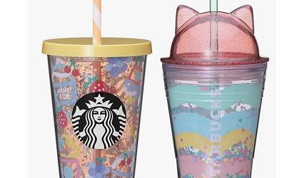 日本星巴克超梦幻的红白「草莓星冰乐」2019年4月11日开卖!超萌猫耳杯好犯规!