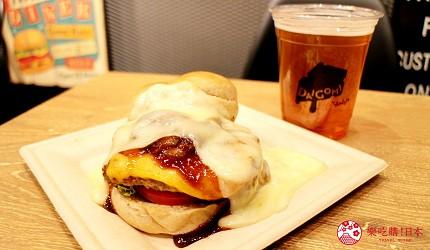 橫濱景點橫濱體驗型遊樂空間asobuild美食餐廳DAIGOMIBURGER爆漿起司瀑布漢堡