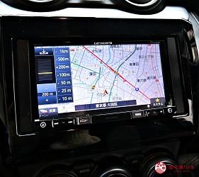 日本租車自駕推薦NIPPON Rent-A-Car車內操作螢幕