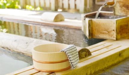 日本溫泉旅館常用漢字單字總整理的溫泉旅館的「風呂」浴池形象圖