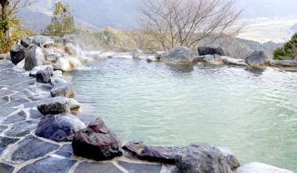 日本溫泉旅館常用漢字單字總整理的溫泉旅館的「貸切」浴池形象圖