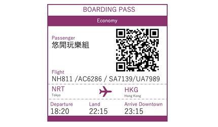 賺盡ANA Mileage的ANA航空前往東京的航班NH811