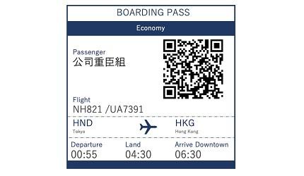 賺盡ANA Mileage的ANA航空前往東京的航班NH821