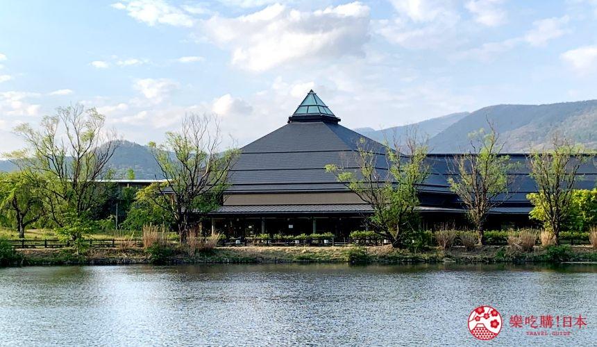 日本長野輕井澤一日遊必去人氣景點日劇《四重奏》象徵性場景鹽澤湖湖畔的「輕井澤大賀音樂廳」