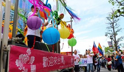 亚洲同志第2友善城市「东京」的东京彩虹游行