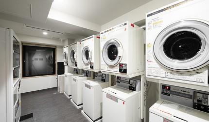 公寓式飯店「MIMARU」內的洗衣烘衣設備