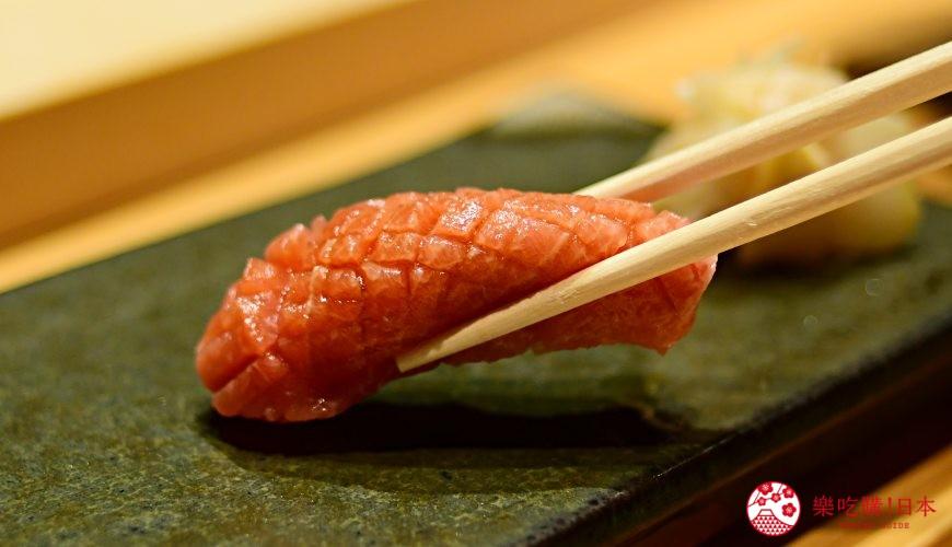 日本東京旅遊銀座高級壽司推薦推介江戶前壽司OMAKASE「鮨ふくじゅ」的握壽司照片
