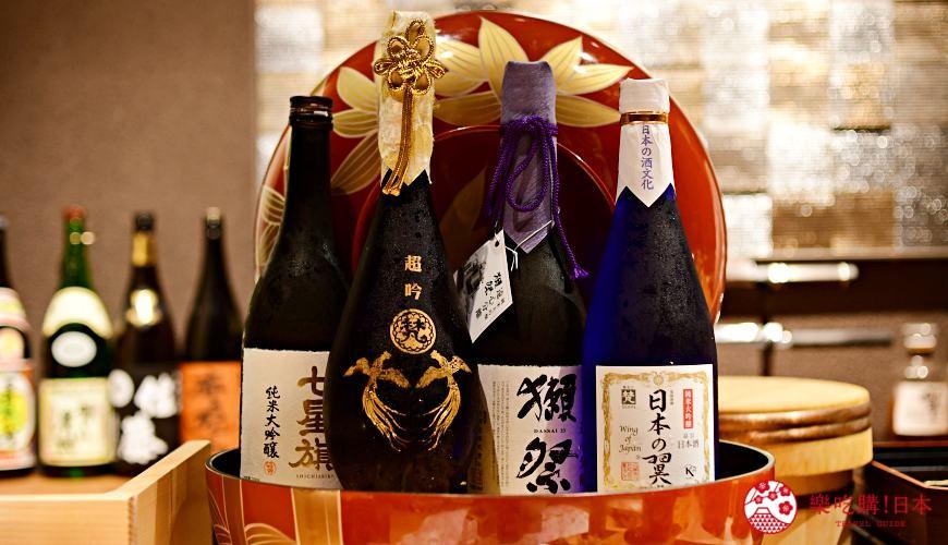 日本東京旅遊銀座高級壽司推薦推介江戶前壽司OMAKASE「鮨ふくじゅ」的日本酒