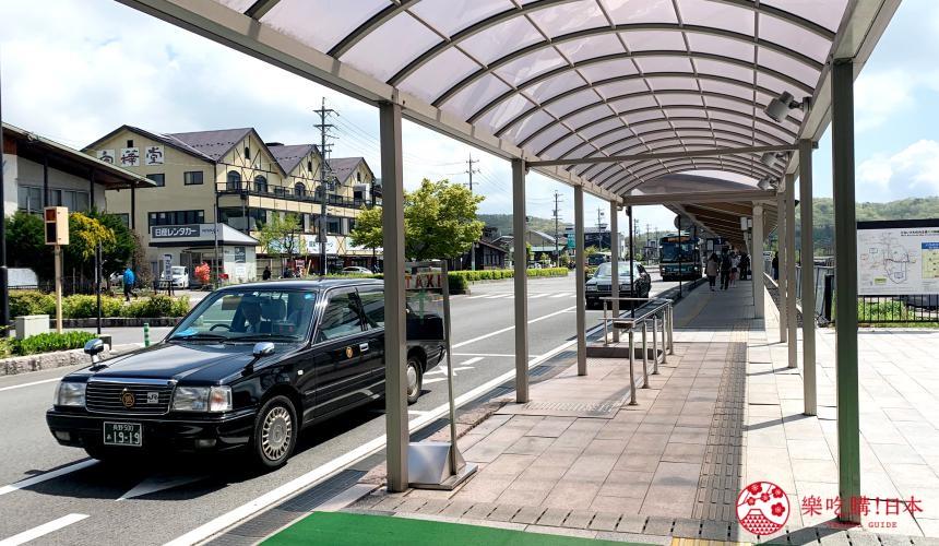 輕井澤一日遊最強交通指南之輕井澤車站搭公車地點