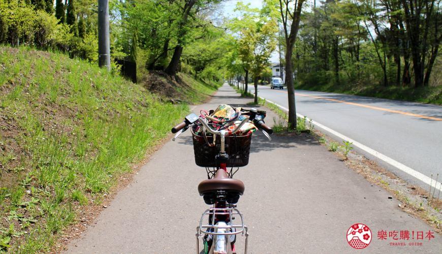 輕井澤一日遊最強交通指南之輕井澤騎腳踏車是最經典的交通移動方式