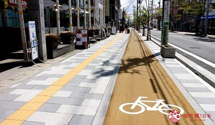 制霸「輕井澤」的最強交通整理!輕井澤的腳踏車道