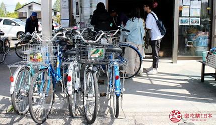 輕井澤一日遊最強交通指南之輕井澤騎租腳踏車店