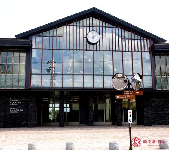 輕井澤一日遊最強交通指南之輕井澤的中輕井澤車站