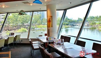 东京景点水族馆品川水族馆景观餐厅