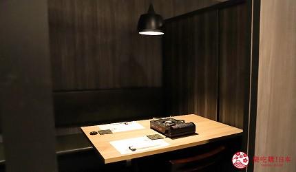 東京吃和牛涮涮鍋推薦新宿「しゃぶ匠 一二新宿」的室內空間環境之二