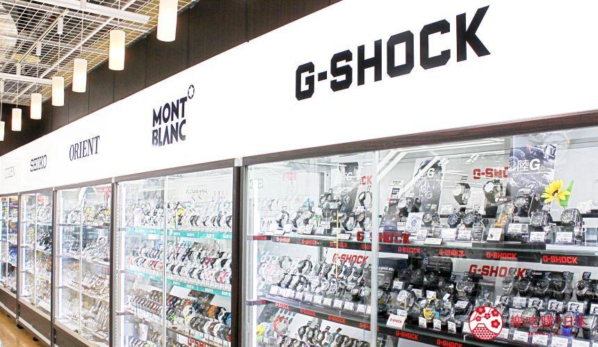 东京车站对面山田电机电器行ConceptLABITOKYO手表贩卖区