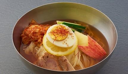東京燒肉吃到飽燒肉推薦焼肉上野太昌園菜單冷麵