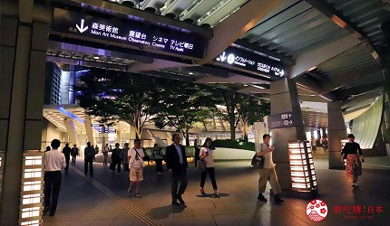 東京六本木必吃高級壽司「鮨 水月」的交通方式步驟二
