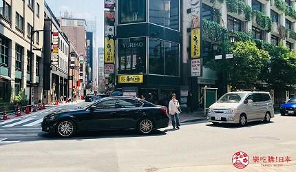 東京推薦高級日本料理店「銀座一」的交通方式步驟三