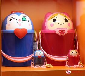 橫濱麵包超人博物館必買藍精靈與嬰兒超人爆米花桶