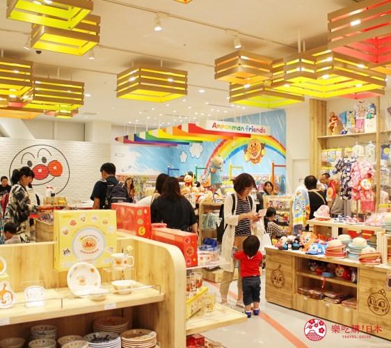 橫濱麵包超人博物館一樓必買伴手禮麵包超人Terrace