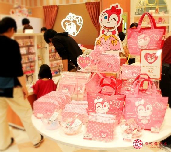 橫濱麵包超人博物館一樓必買伴手禮紅精靈的怦然心動時尚店