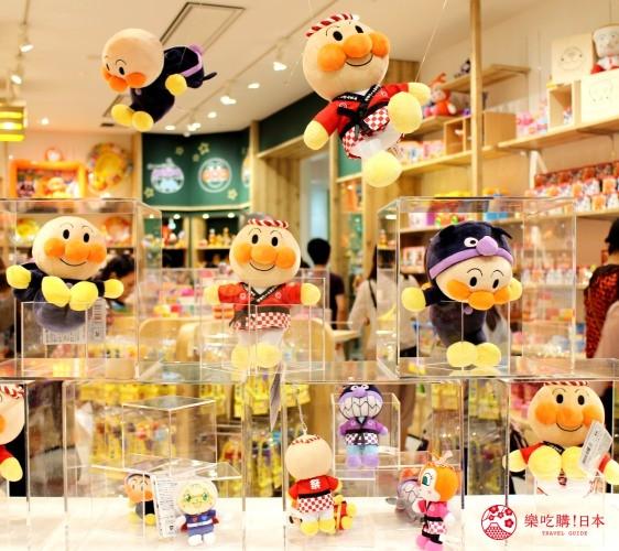 橫濱麵包超人博物館一樓必買伴手禮麵包超人玩偶