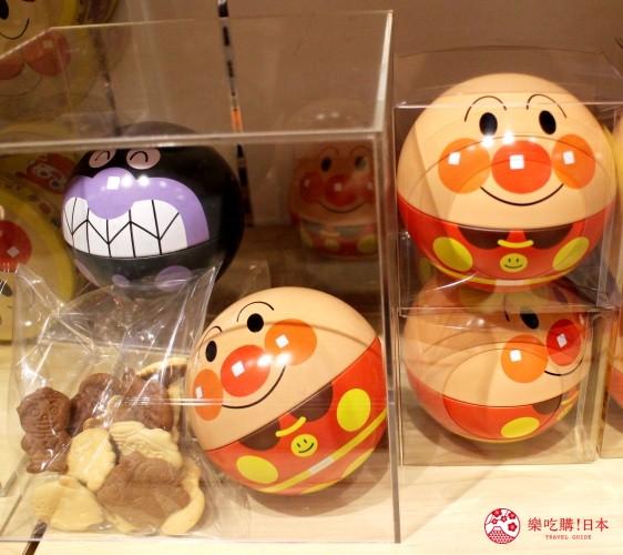 橫濱麵包超人博物館一樓必買伴手禮麵包超人造型餅乾