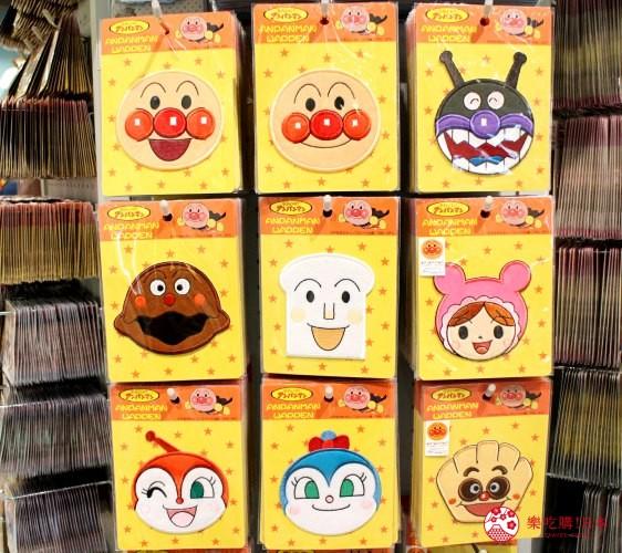 橫濱麵包超人博物館一樓必買伴手禮刺繡布貼