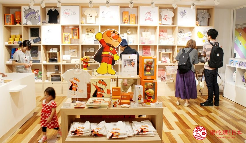 橫濱麵包超人博物館二樓限定商品