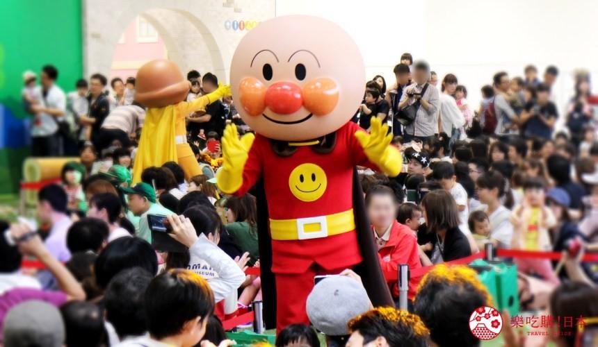 橫濱麵包超人兒童博物館三樓麵包超人歌舞秀