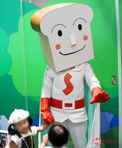 橫濱麵包超人兒童博物館吐司超人拍照