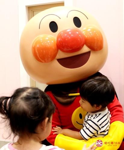 橫濱麵包超人兒童博物館麵包超人拍照