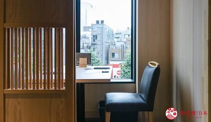 東京惠比壽高級壽司店推薦「鮨 おぎ乃」的店內靠窗座位