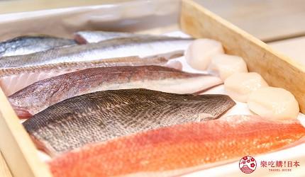 东京惠比寿高级寿司店推荐「鮨 おぎ乃」的新鲜鱼类