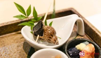 东京惠比寿高级寿司店推荐「鮨 おぎ乃」套餐「特上おまかせ握りコース」的前菜