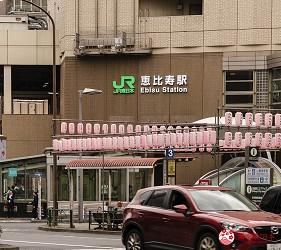 东京惠比寿高级寿司店推荐「鮨 おぎ乃」的交通方式步骤一
