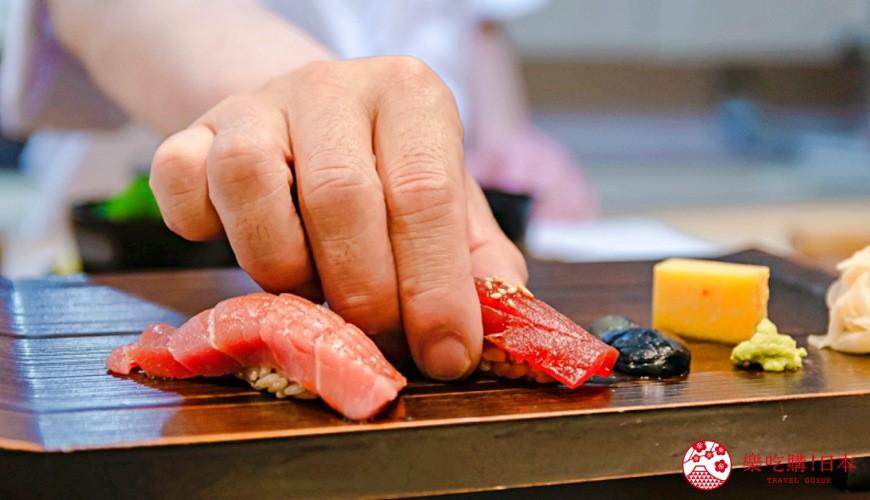 東京惠比壽高級壽司店推薦「鮨 おぎ乃」!鮪魚中腹肉、海膽試吃…只要15,000日圓