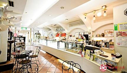 東京景點推薦府中市美食甜點Monamour清風堂本店モナムール清風堂本店店內