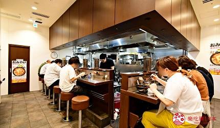 東京景點推薦府中市美食拉麵麵創研紅店內