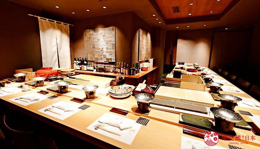 日本東京旅遊銀座高級壽司推薦推介江戶前壽司OMAKASE「鮨ふくじゅ」的店內環境