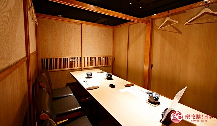 東京三田超強CP值居酒屋「樋口」內的全包廂座席一景