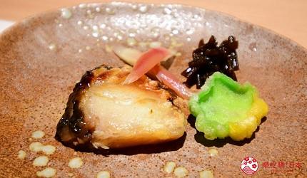 東京三田超強CP值居酒屋「樋口」的「翠」套餐的黑鯥西京漬