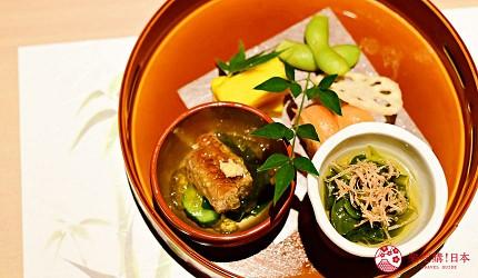 東京三田超強CP值居酒屋「樋口」的「翠」套餐的前菜