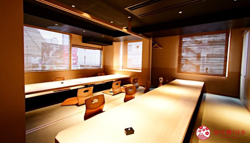 東京三田超強CP值居酒屋「樋口」內的全包廂座席