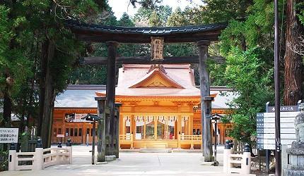 東京近郊長野景點安曇野穗高神社