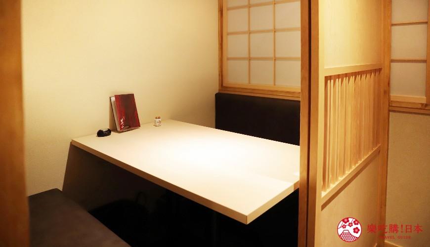 東京神樂坂必吃螃蟹會席料理「美山 神樂坂」的用餐空間